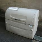 敷地内ゴミ箱